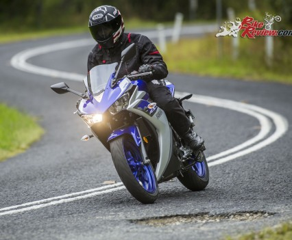 2016 Yamaha YZF-R3 Bike Review Actions (1)