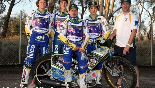 Australian Speedway Under 21 Team headed to Denmark