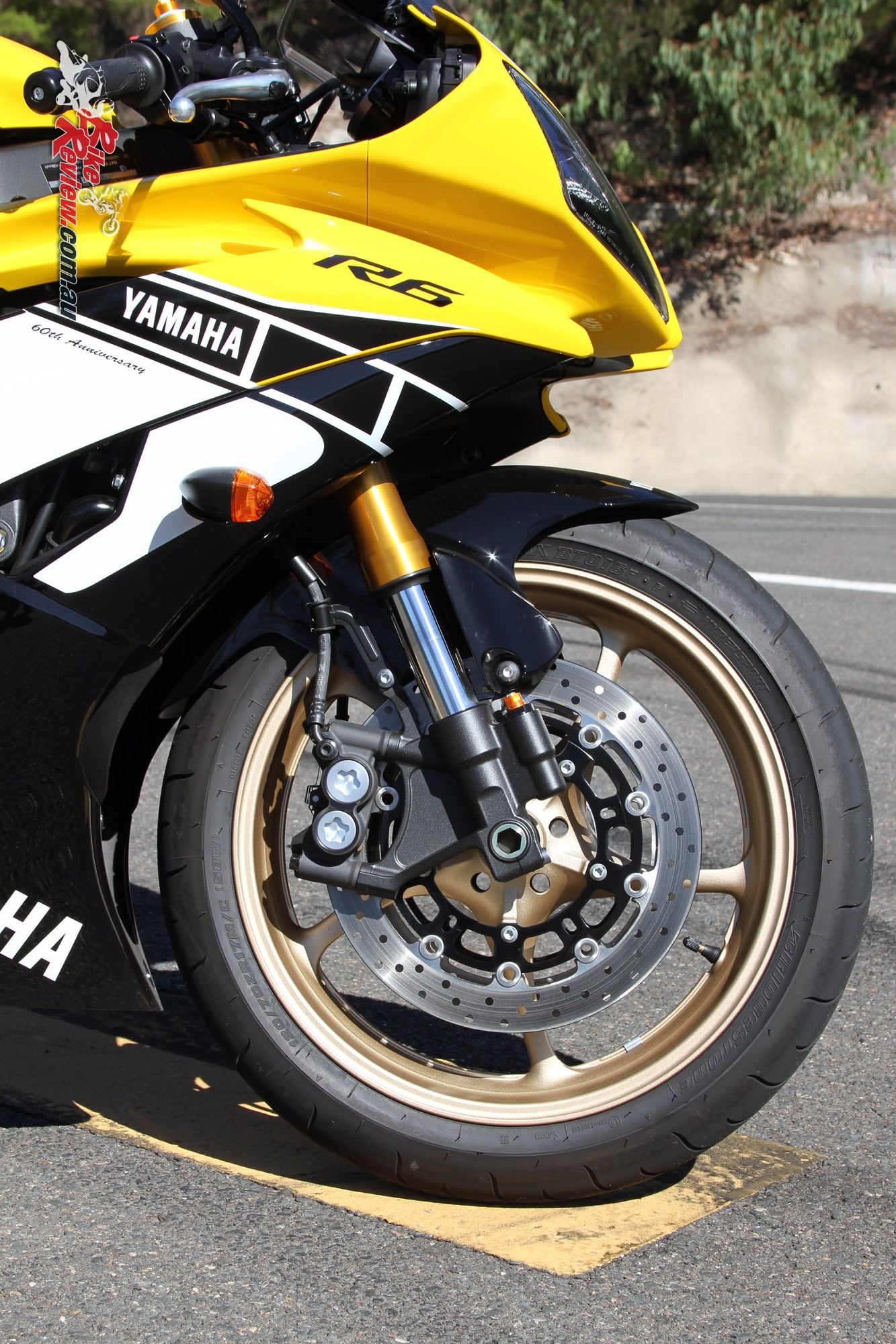 Yamaha R Th Anniversary Wheels