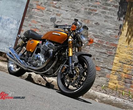 Classic Custom Honda Cb750 Four Bike Review