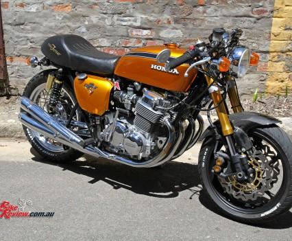 Bike Review Custom Classic CB750 Four - Image: Craig Stevenson
