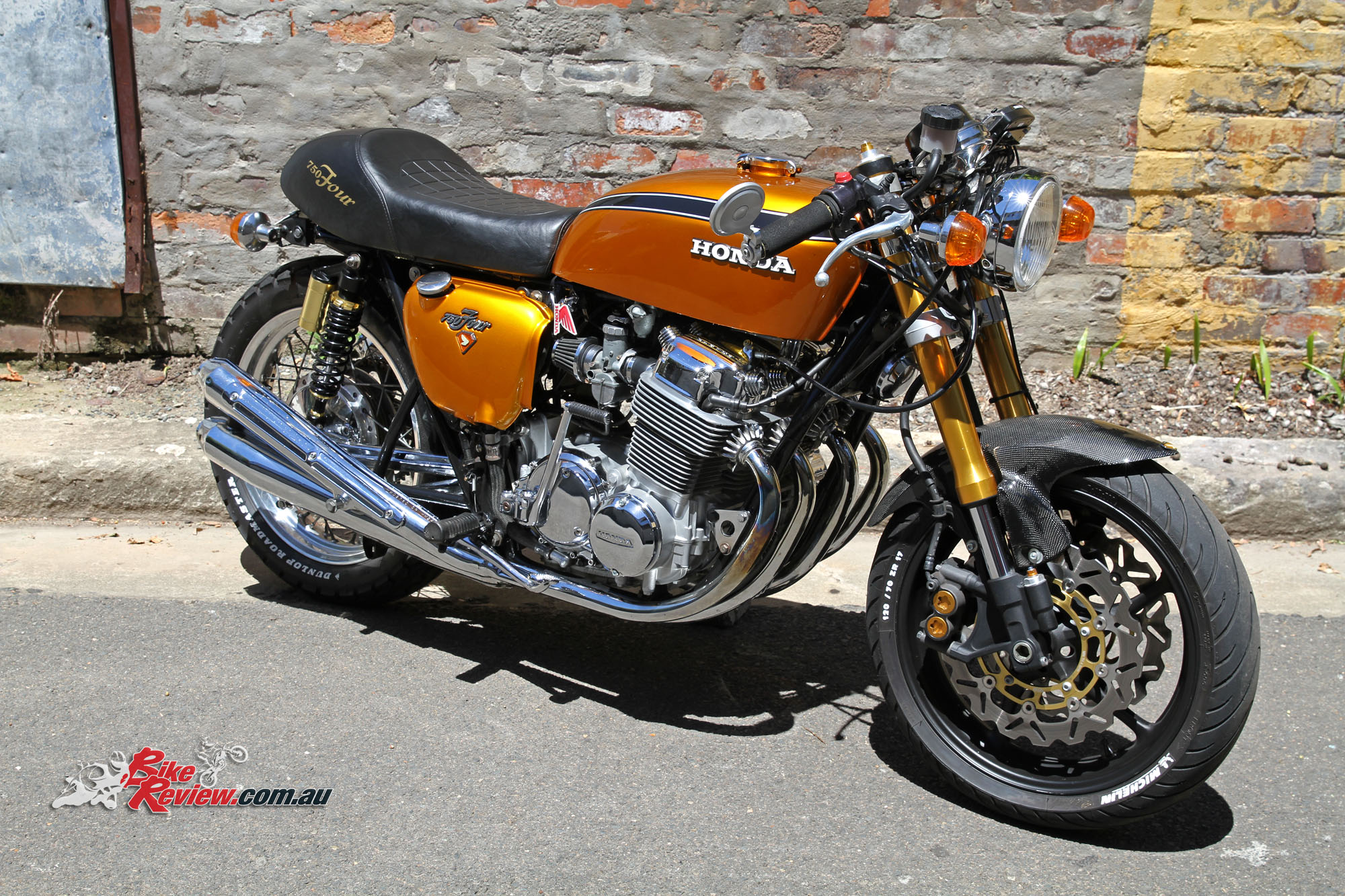 Classic Custom Honda Cb750 Four Bike Review