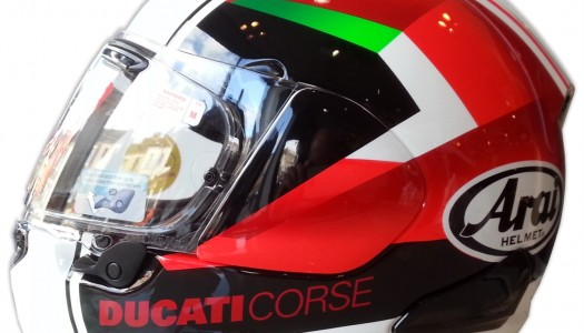 New Product: Ducati Red Arrow Arai Helmet