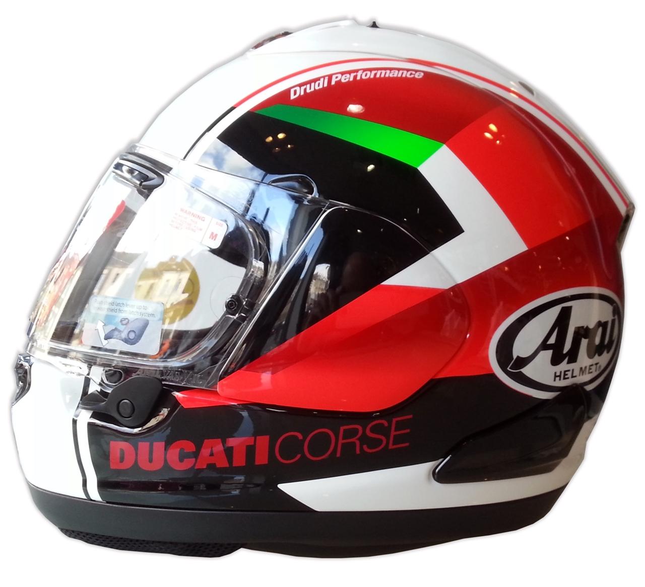 New Product: Ducati Red Arrow Arai Helmet - Bike Review