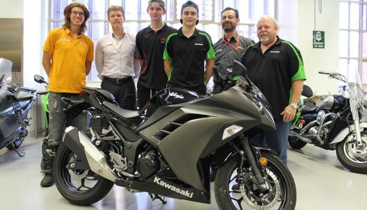 Kawasaki Motors Australia Donate Ninja 300 Training Unit To Tafe NSW – Sydney Institute