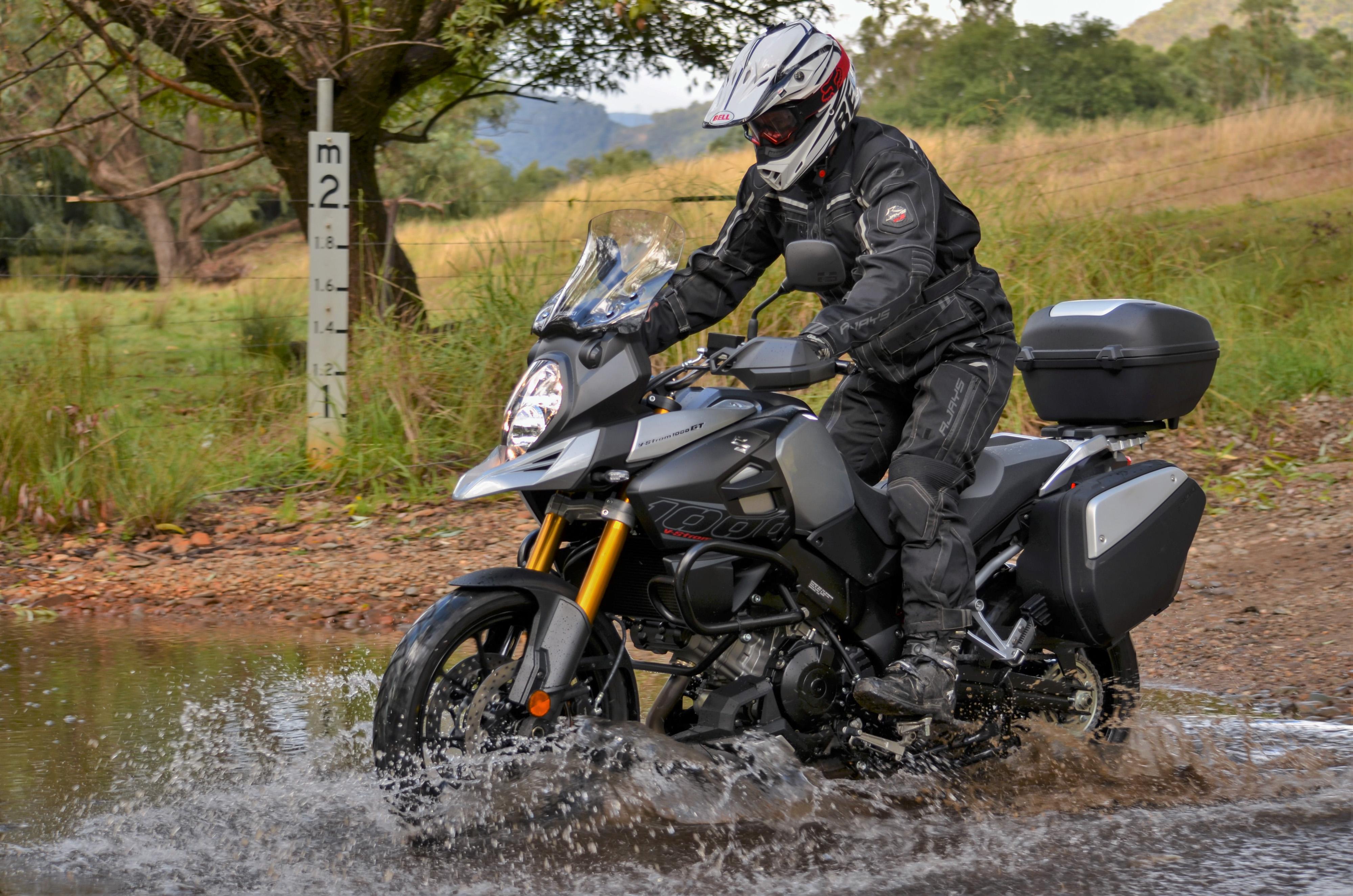 Honda Riding Gear >> The Ultimate Grand Tourer - V-Strom 1000GT - Bike Review
