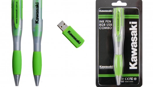 New Product: Kawasaki Pen/USB Combo Now Available