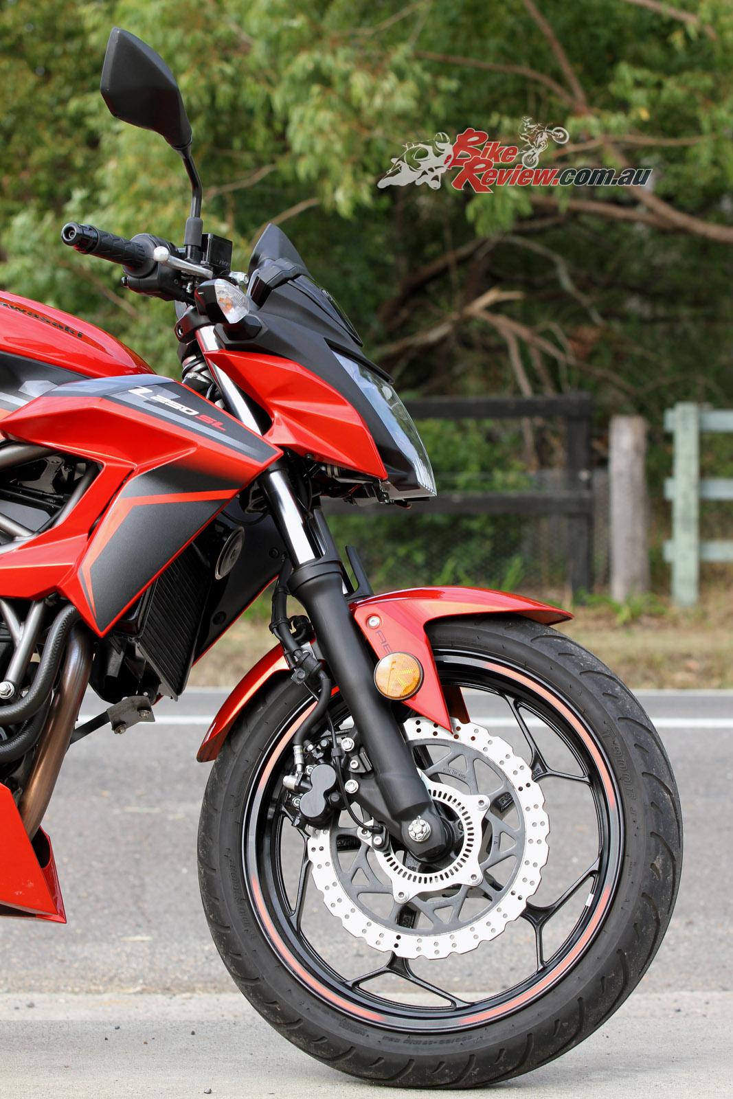 Review 2016 Kawasaki Z250sl Bike Review