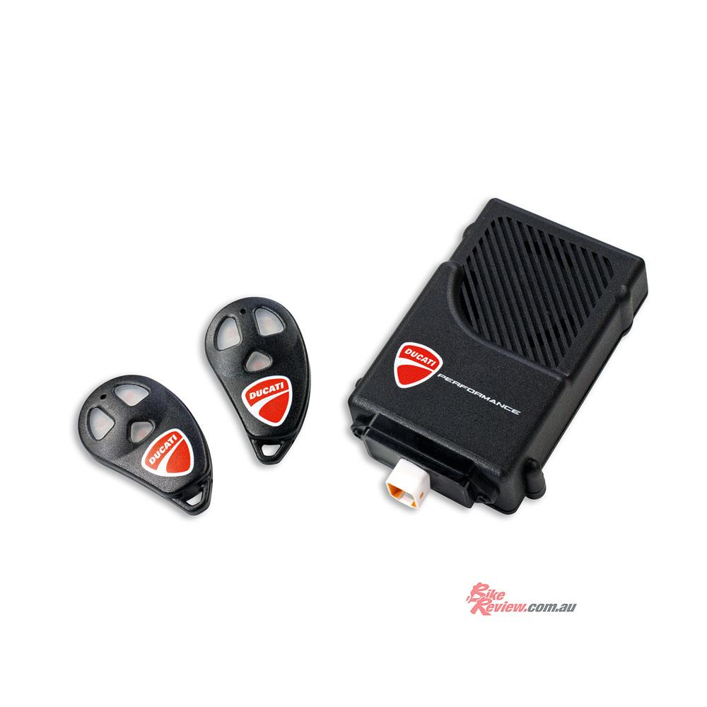 Ducati Monster Alarm