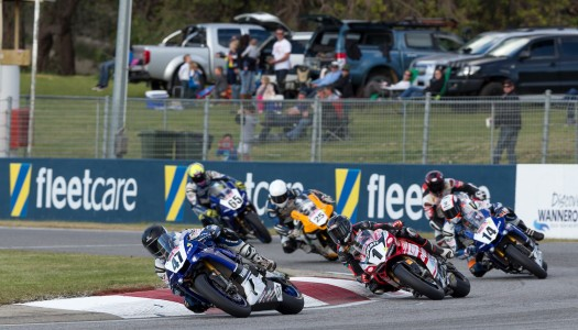 Maxwell Leads ASBK