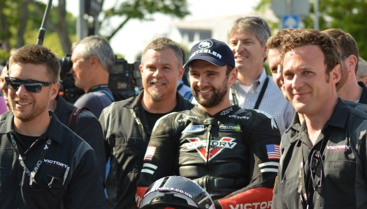 Victory Racing Podium At IoM TT