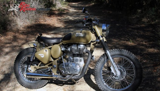 Custom: Royal Enfield Custom Desert Storm