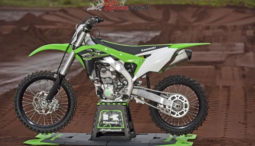 2017 Kawasaki KX250F Now Available