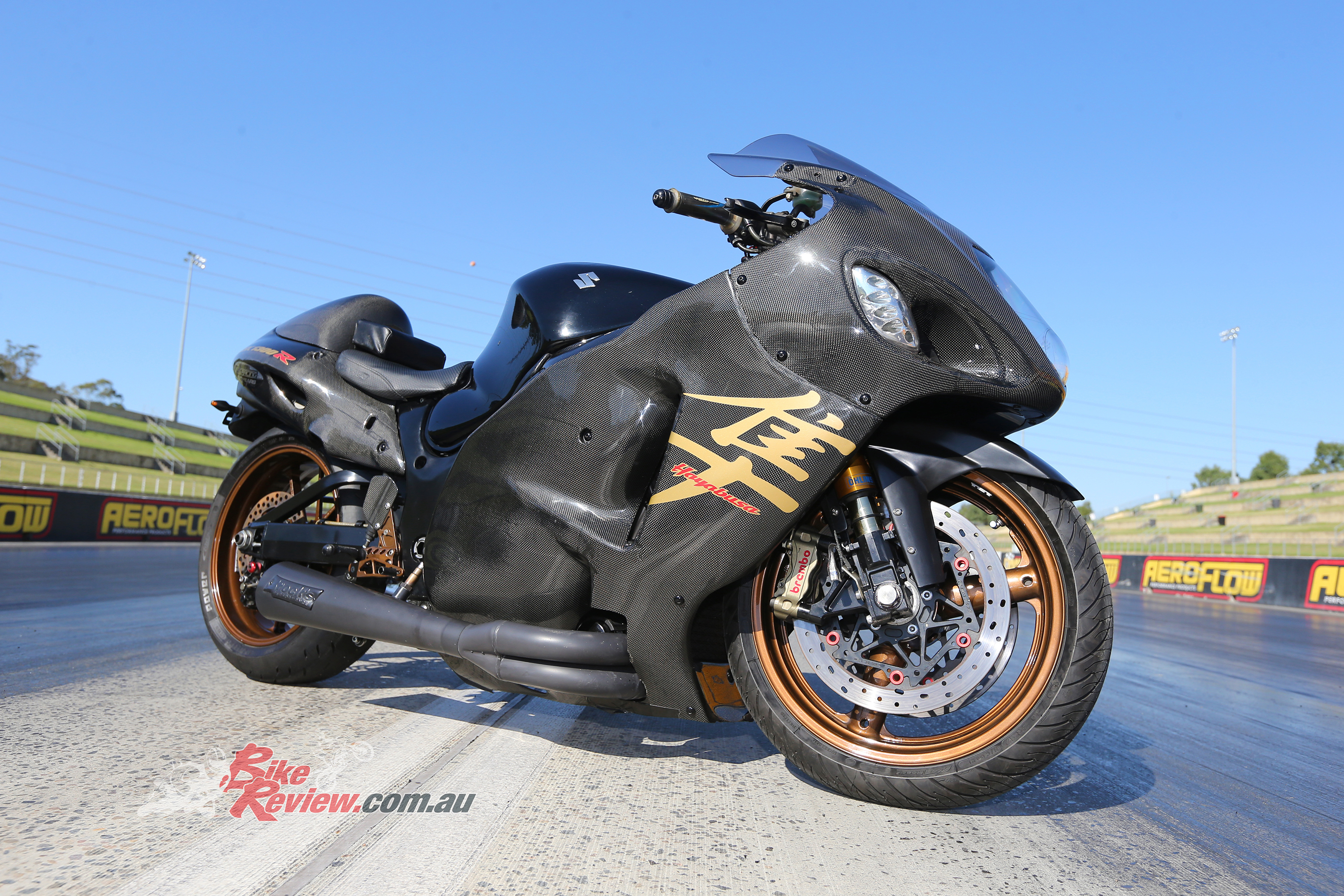 custom racer: hayabusa drag bike - bike review