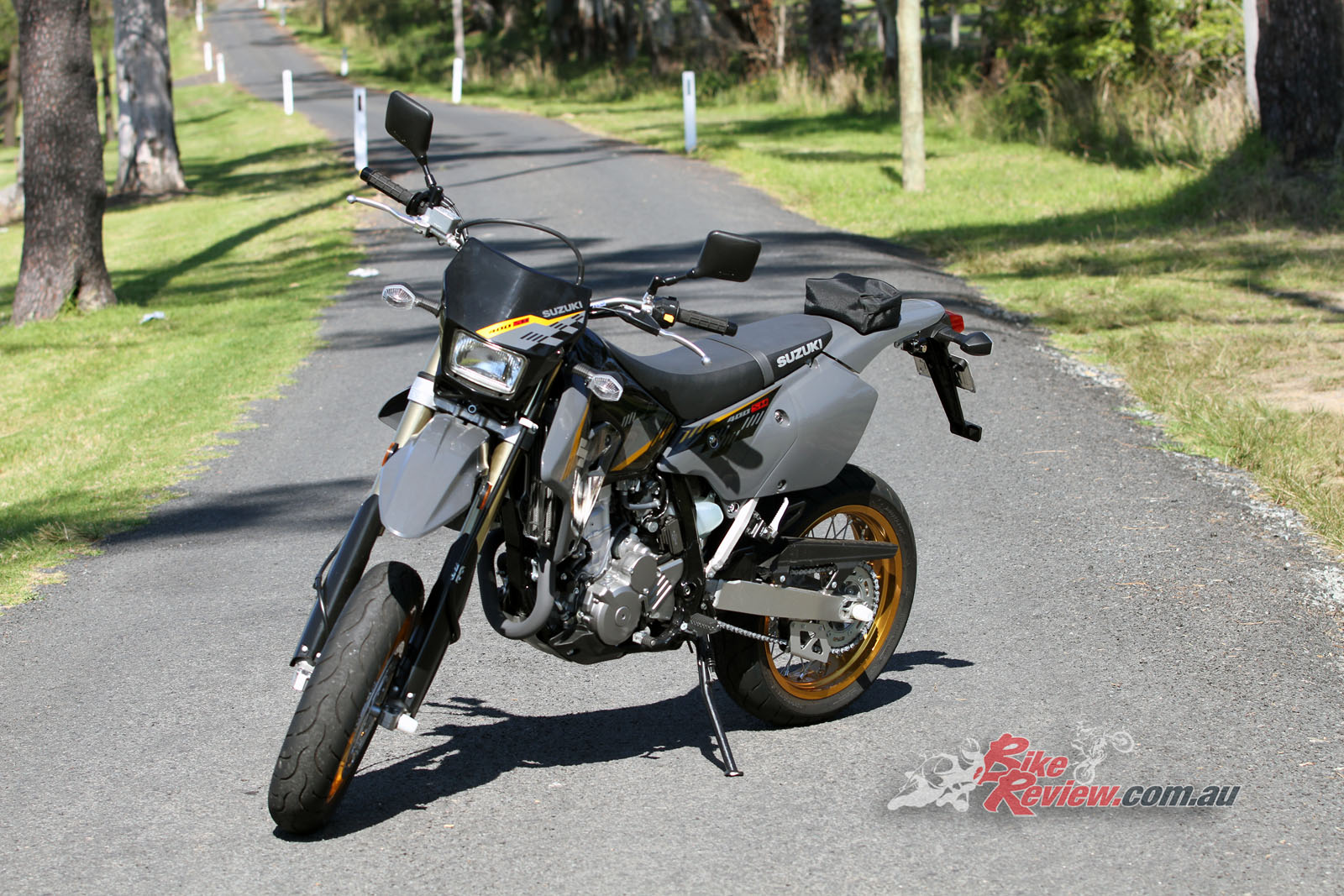 Review: 2017 Suzuki DR-Z400SM - Bike Review