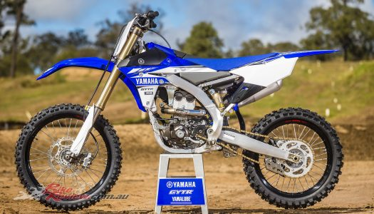 2017 Yamaha YZ250F, Major Revisions