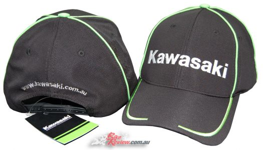 New Product: Kawasaki Curved Peak Cap