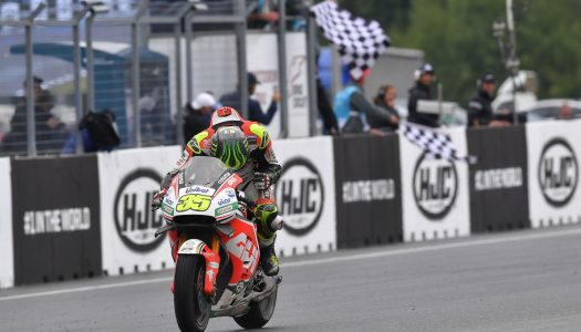 Crutchlow charges to make history