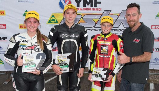 Edwards, Toparis unstoppable at ASBK Round 5