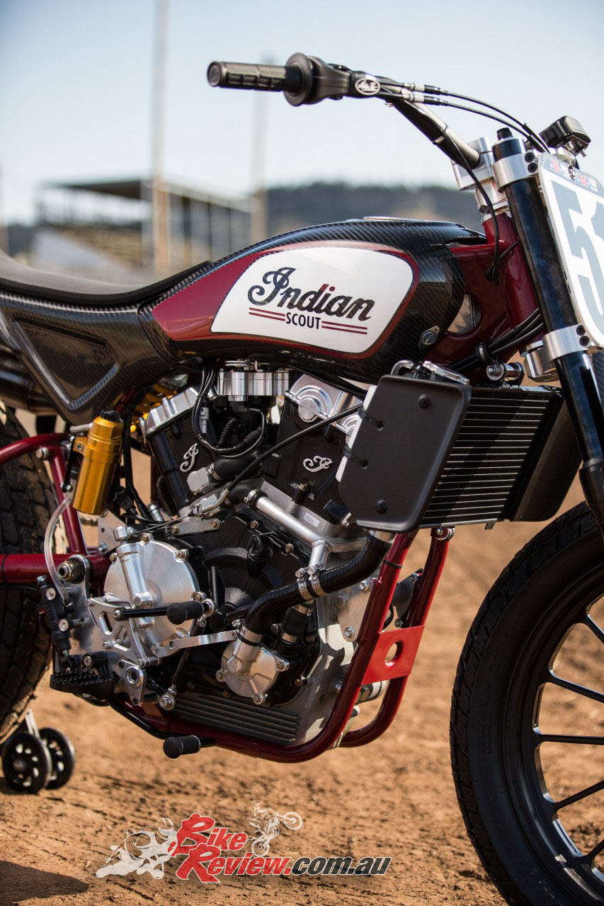 The Indian FTR 750 promoted the addition of a 1200 road legal offering