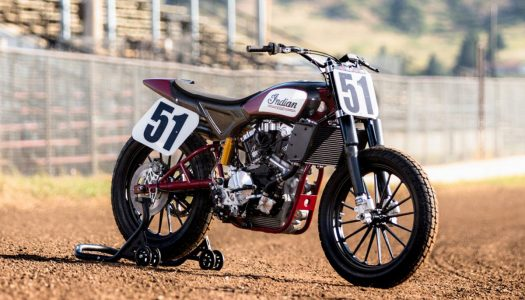 Indian FTR750 flat-track racer unveiled
