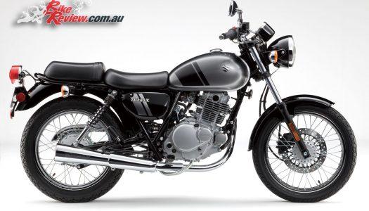Modernly Retro: 2017 Suzuki TU250X