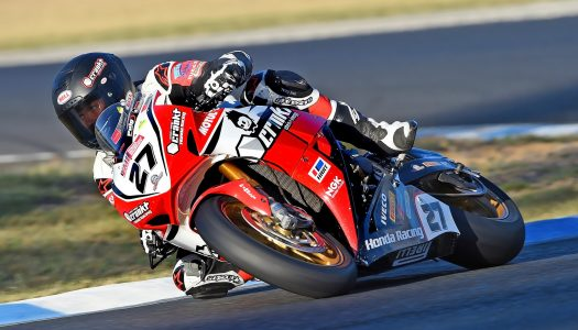 Perfect weekend for Honda Racing's Herfoss