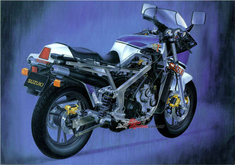 classic test suzuki rg500 walter wolf review bike review. Black Bedroom Furniture Sets. Home Design Ideas