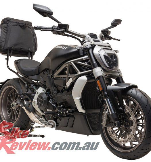 Ventura Rack Ducati Diavel Bike Review
