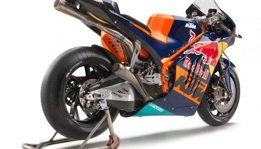 The New KTM RC16 MotoGP Machine