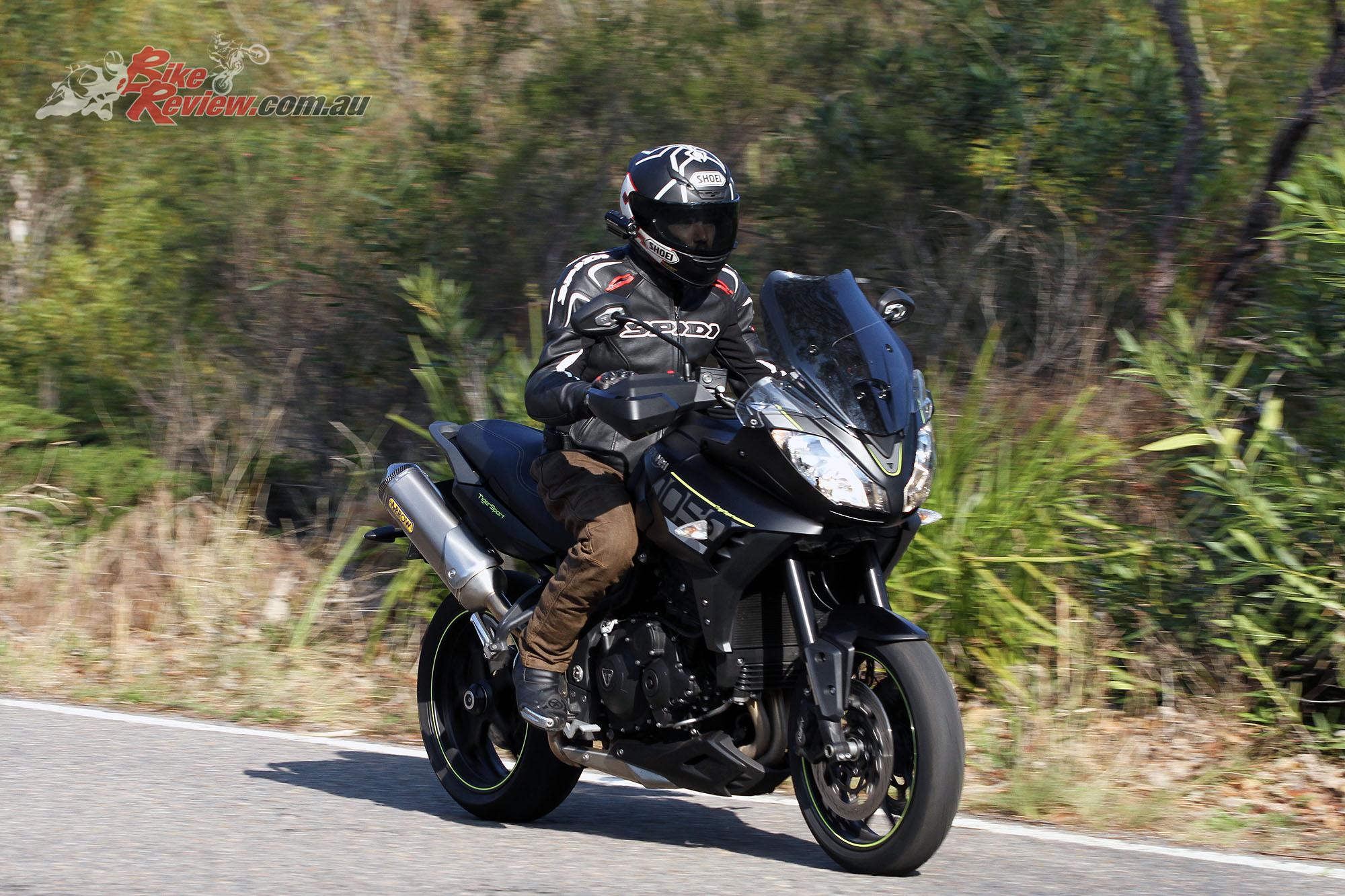 Review 2016 Triumph Tiger Sport Bike Review