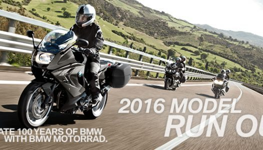 BMW Motorrad celebrates with 2016 run-out