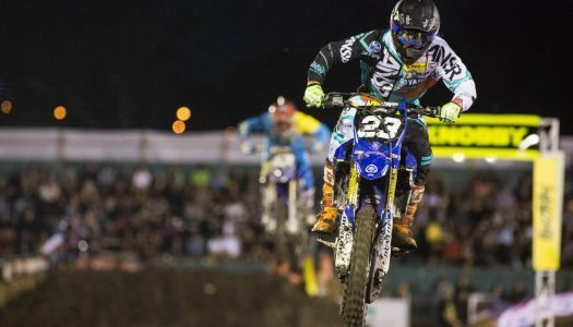 Hunter Snares SX2 Podium for Serco Yamaha