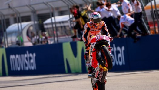 Marquez reigns MotorLand as the shark bites back