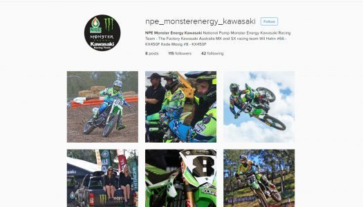 National Pump Monster Energy Kawasaki Racing Team Join Instagram