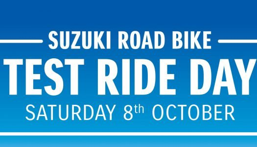 Suzuki Test Ride Day – October 8th