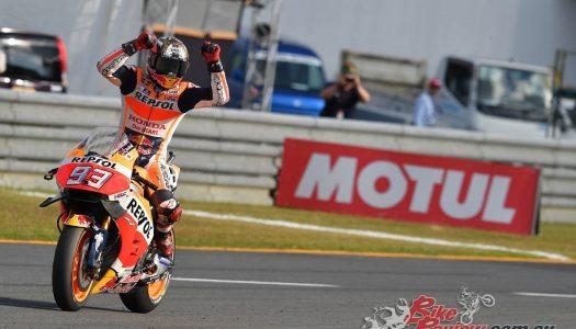Marquez takes MotoGP title in Motegi shocker
