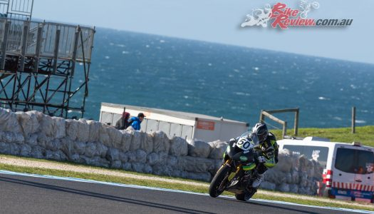 Callum Spriggs is Phillip Island Supersport Champion