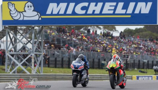 Jones takes first MotoGP point, Barton 20th