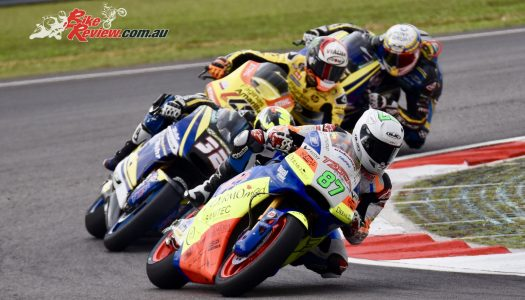 Remy Races To 13th In Malaysian Rain