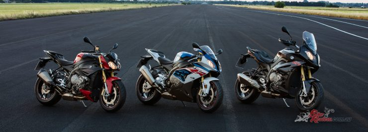2017 BMW S 1000 R, S 1000 RR, S 1000 XR