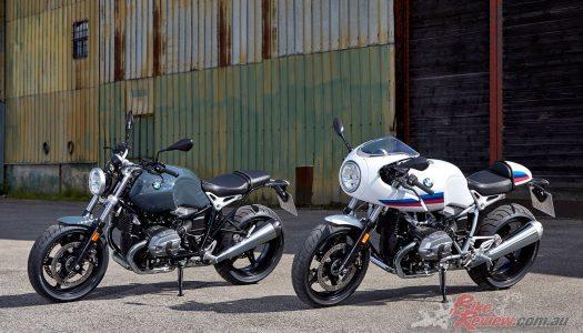 2017 BMW R nineT Racer & R nineT Pure