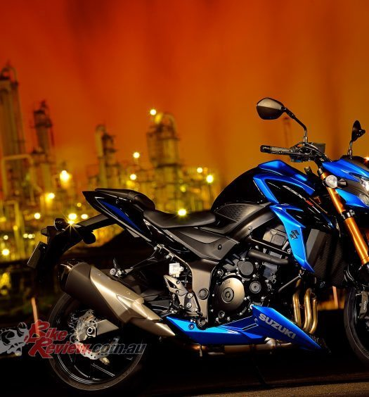 Suzuki's all new for 2017 GSX-S750