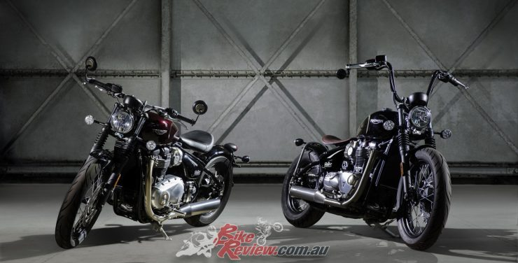 All New 2017 Triumph Bonneville Bobber Bike Review