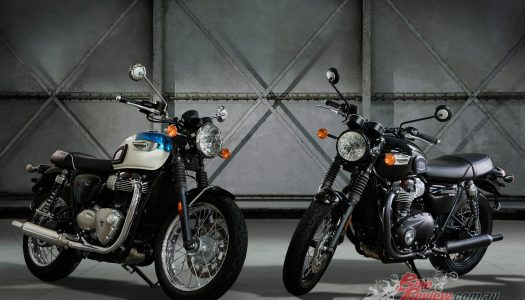 All-New Triumph Bonneville T100 & T100 Black