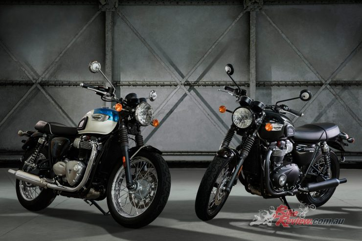 All New Triumph Bonneville T100 T100 Black Bike Review