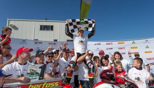 Herfoss takes 2016 YMI Superbike Championship