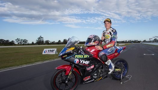 Levy wraps up 2016 YMF R3 Cup