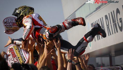 Marc Marquez Claims Third MotoGP World Championship