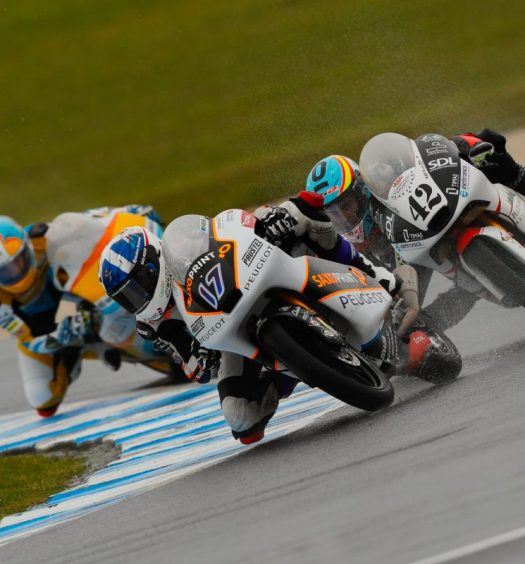 McPhee fastest in FP2 as Bulega remains top on combined. Image: MotoGP.com
